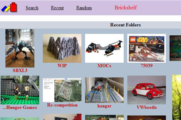 Foto's op Brickshelf zetten