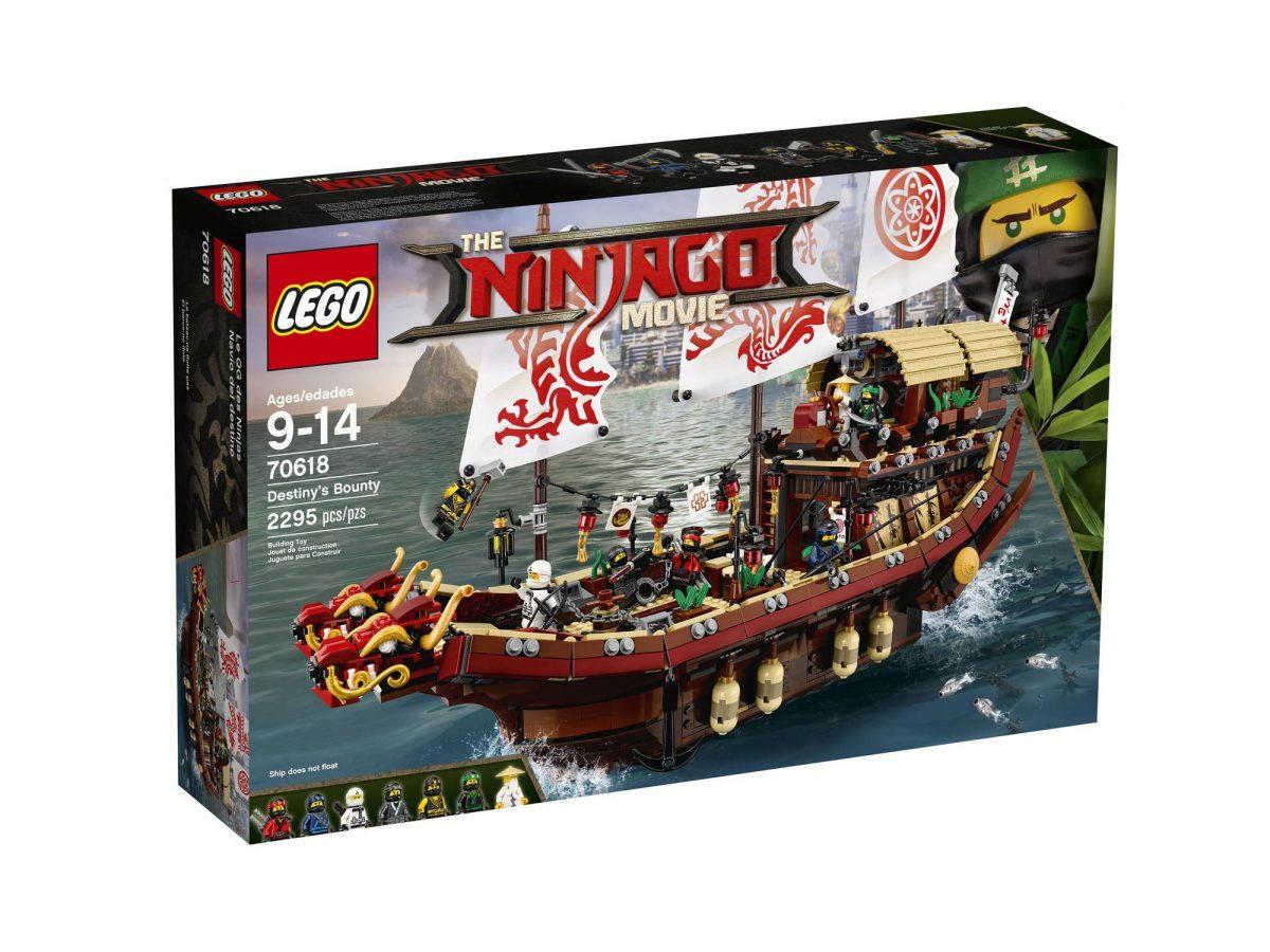 Sets LEGO Ninjago Movie