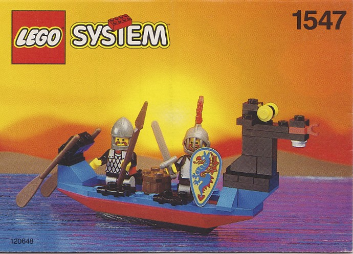 1547 – Black Knights Boat (1993)