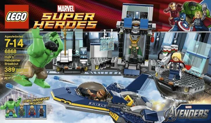 6868 – Hulk's Helicarrier Breakout (2012)