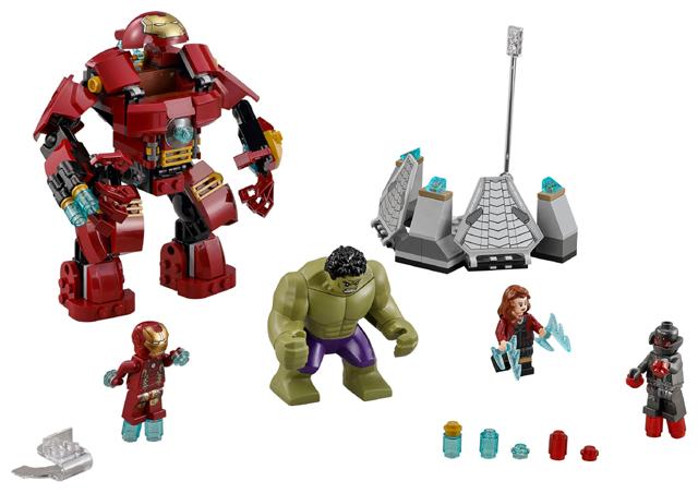 76031 – The Hulk Buster Smash (2015)