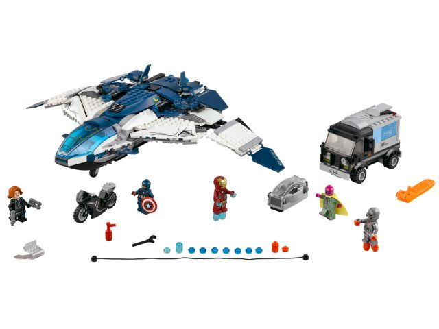 76032 – The Avengers Quinjet City Chase (2015)