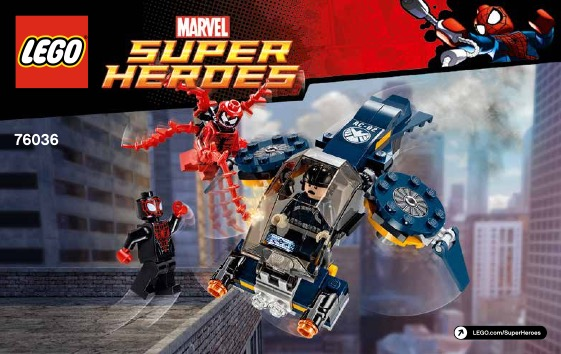 76036 – Carnage's SHIELD Sky Attack (2015)