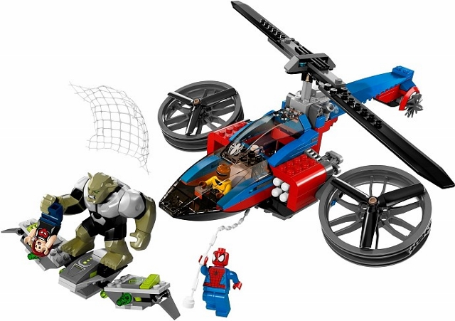 76016 – Spider- Helicopter Rescue (2014)