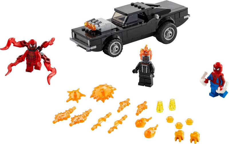 76173 – Spider-Man and Ghost Rider vs. Carnage (2021)
