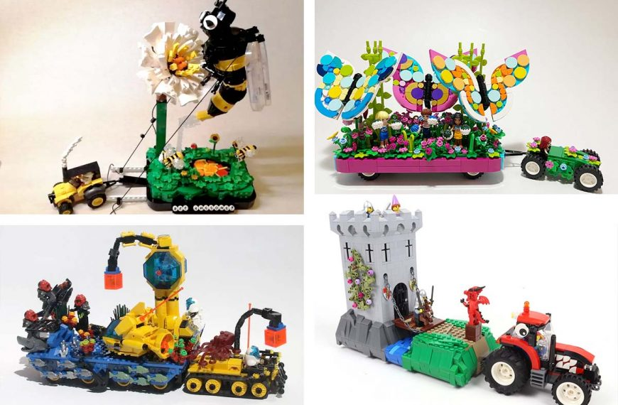 Uitslag LEGO House Praalwagen contest