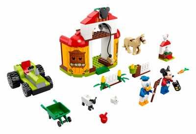 lego mickey and friends 10775 mickys und donald ducks farm
